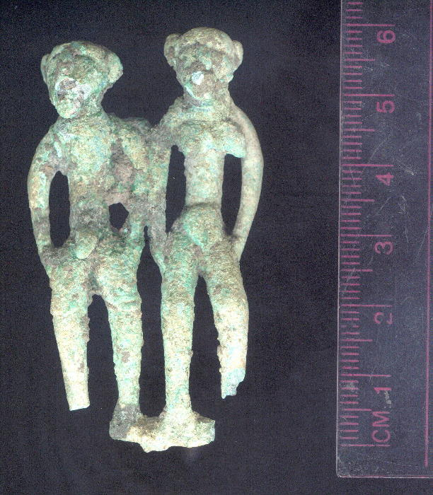 Dong Son bronze naked couple