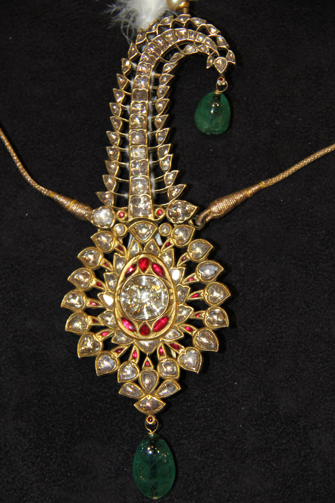 A Sarpech from Gwalior Royal Family, India