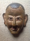 Mask of a monk
