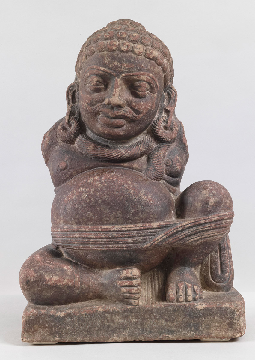 Seated Yaksha