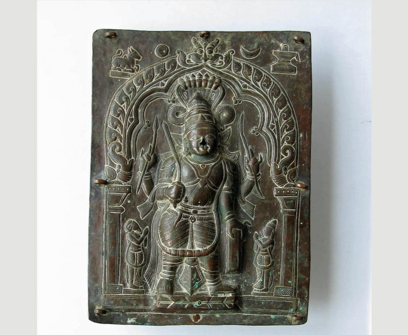 Virabadhra Plate from India