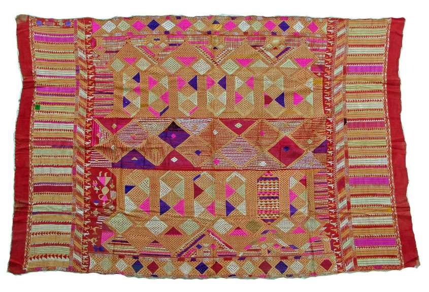 Phulkari Darshan Dwar from India